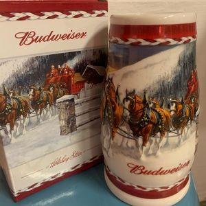 2010 Budweiser Holiday Stein